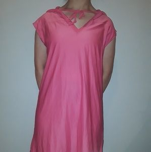 Pink Bathing Suit coverup